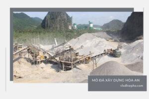 mỏ đá xây dựng